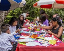Art workshop at Pasadena Museum of History