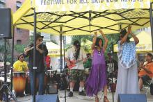 Festival For All Skid Row Artists
